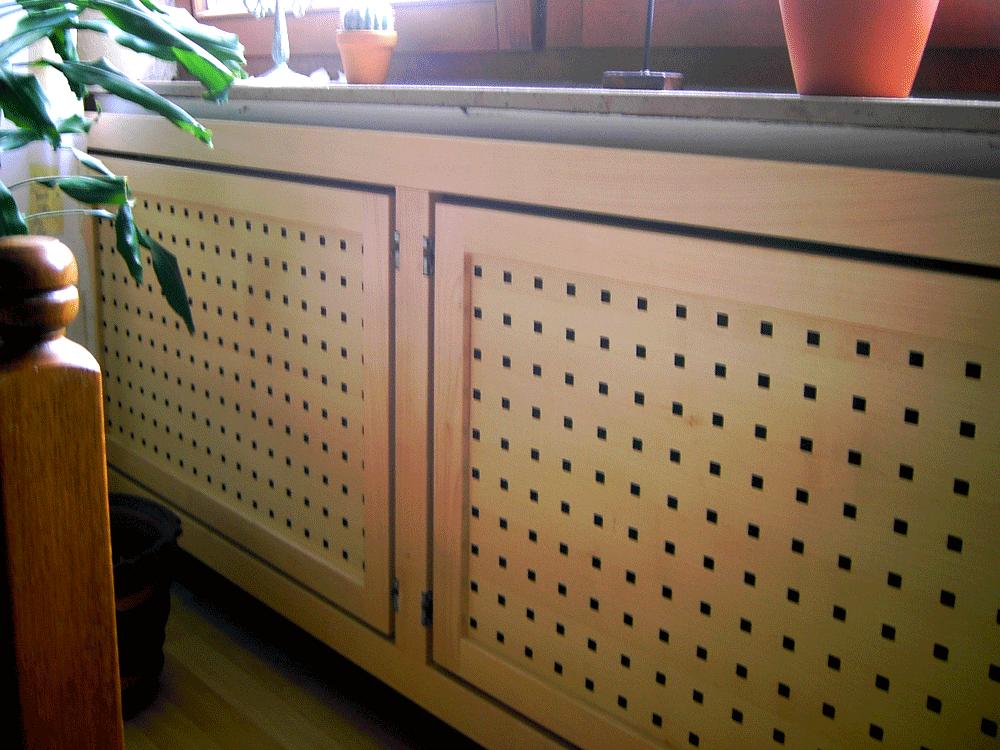 Verkleidung Holz Heizkörper