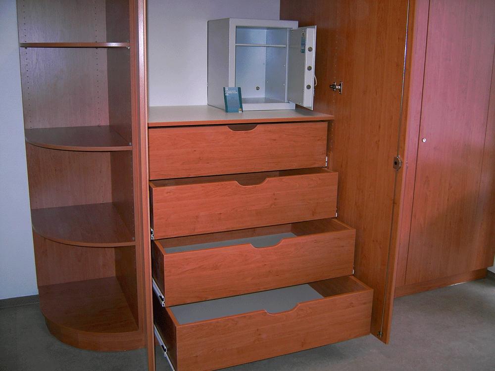 Holz Echtholz Schrankwand Schlafzimmer